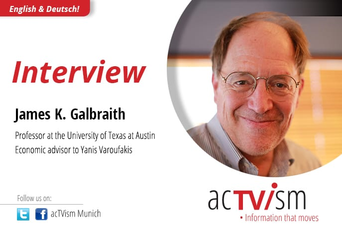 james galbraith actvism interview