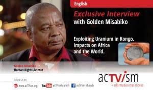 Golden Misabiko actvism interview