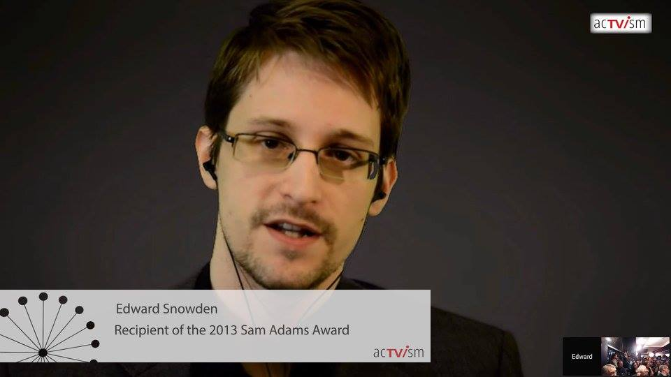 Edward Snowden on acTVism Munich
