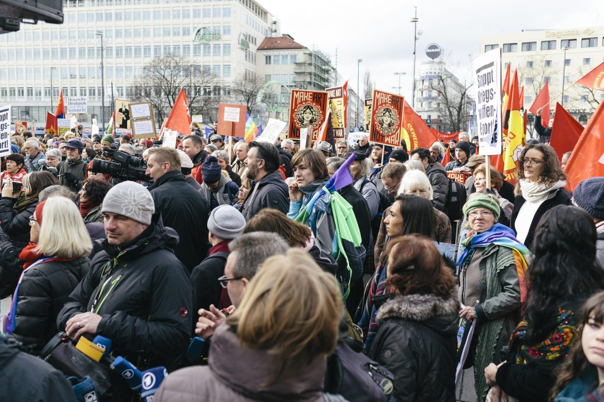 Münchner Sicherheitskonferenz #AntiSIKO