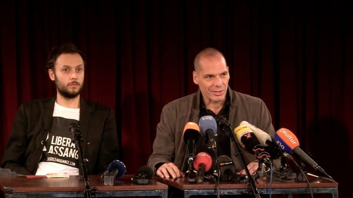 Press Conference: DiEM 25 launched Yanis Varoufakis
