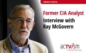 CIA Analyst Ray McGovern
