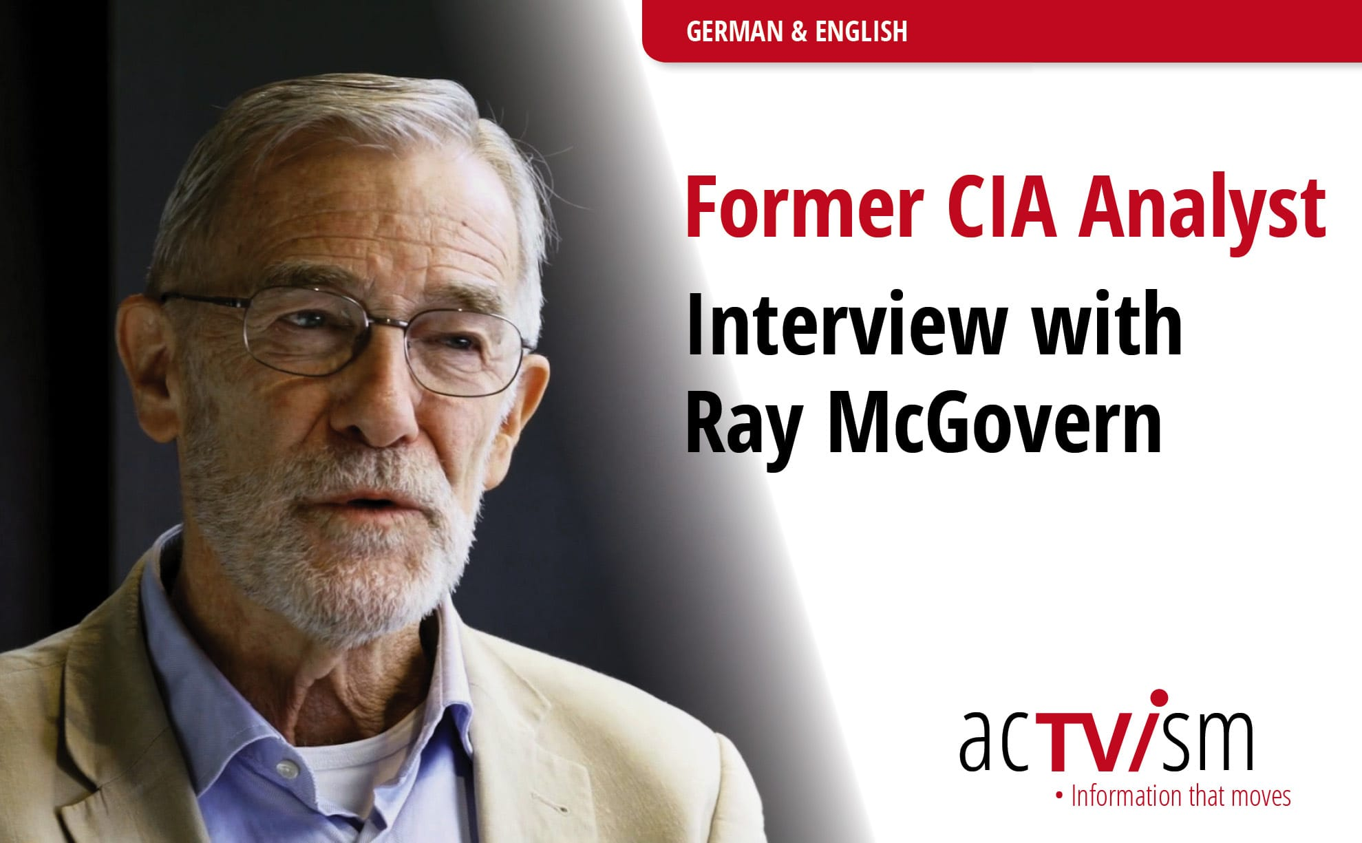 CIA Analyst Ray McGovern