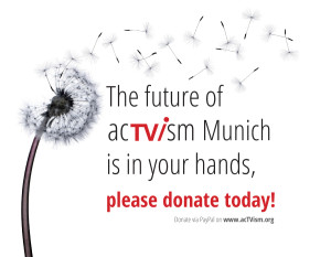 Donate to acTVism Munich