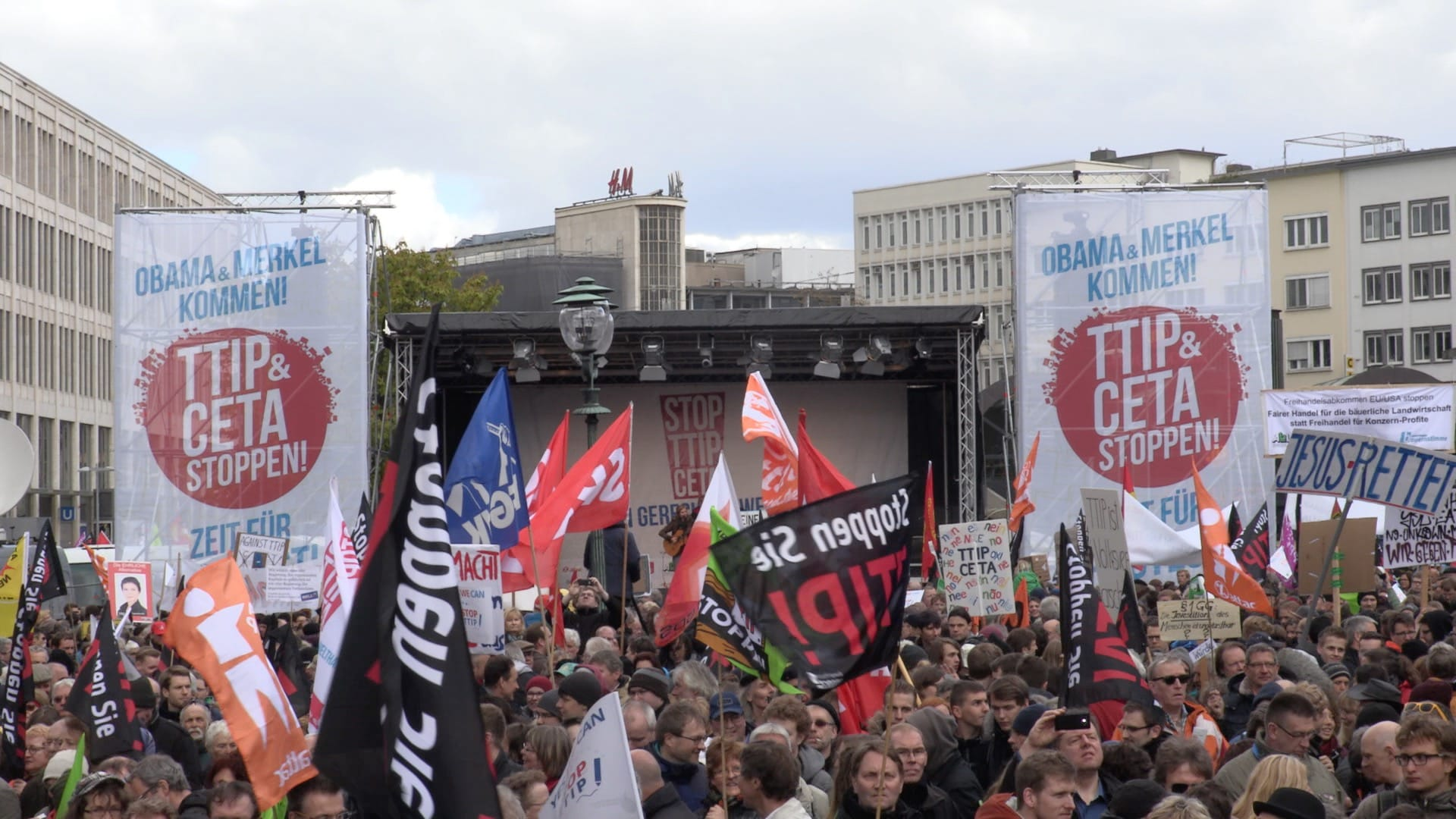 TTIP-CETA Demonstration in Hannover