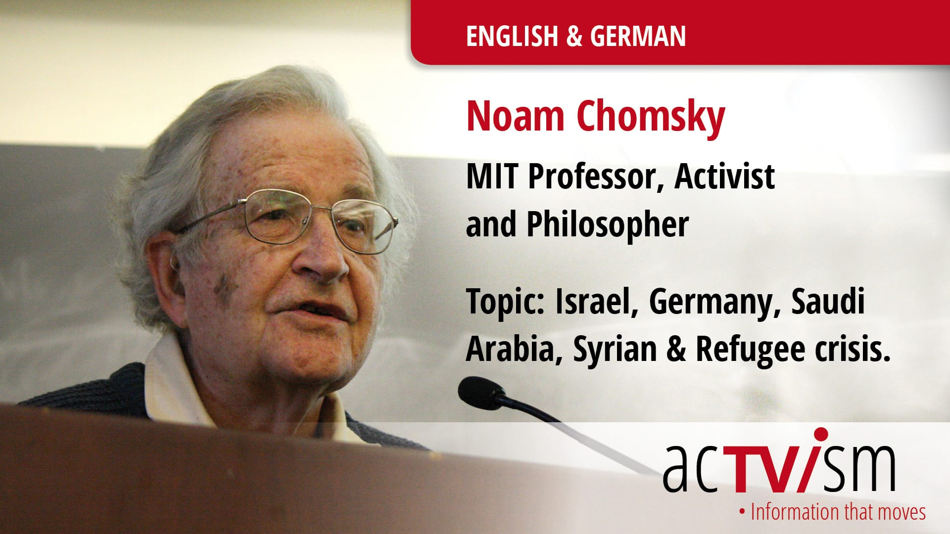 Noam Chomsky German