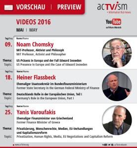 Online-TV-Programm Mai 2016