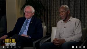 Bernie Sanders & Danny Glover