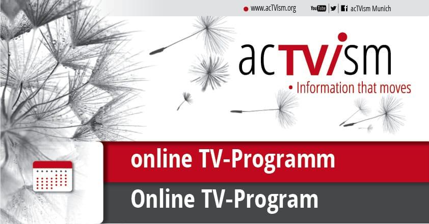 acTVism Munich - Online-TV-Programm