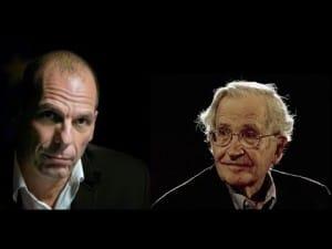 Noam Chomsky Yanis Varoufakis