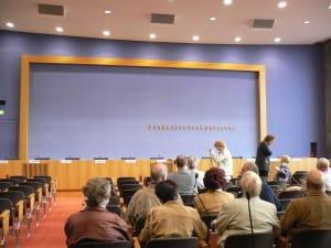 Saal der Bundespressekonferen Berlin