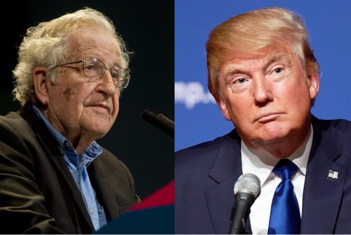 Noam Chomsky on Donald Trump