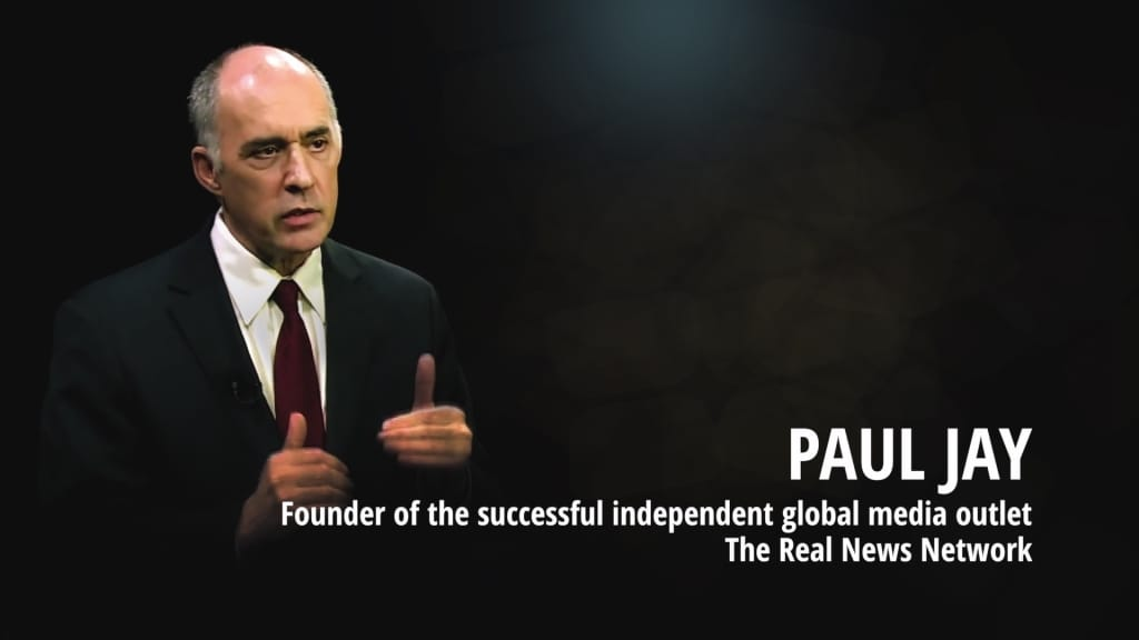 Paul Jay on acTVism Munich