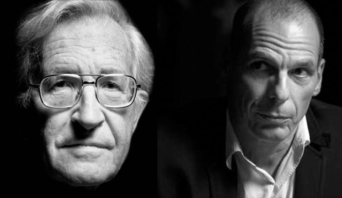 Yanis Varoufakis Noam Chomsky Grundeinkommen