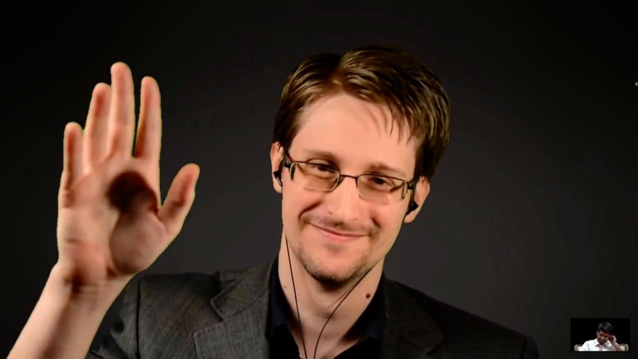 Edward Snowden Event World