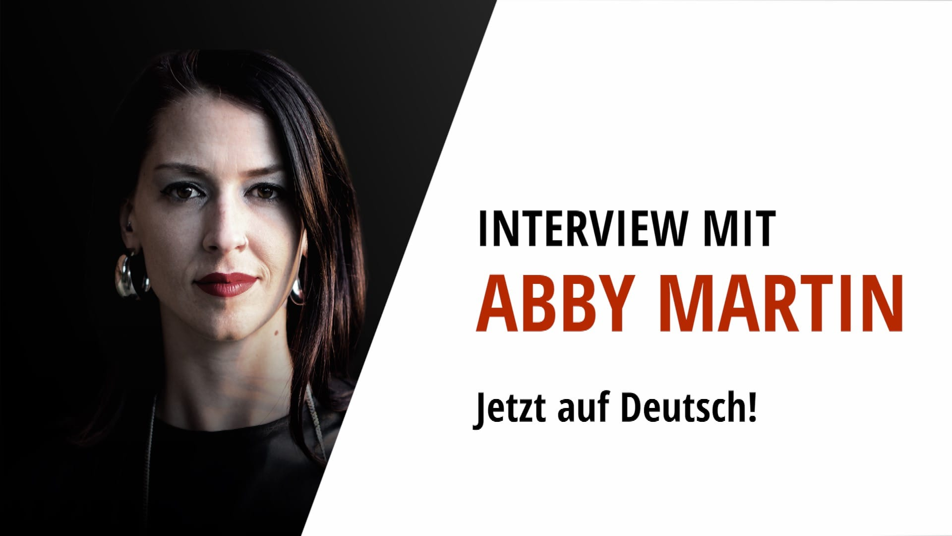 Abby Martin Deutsch acTVism