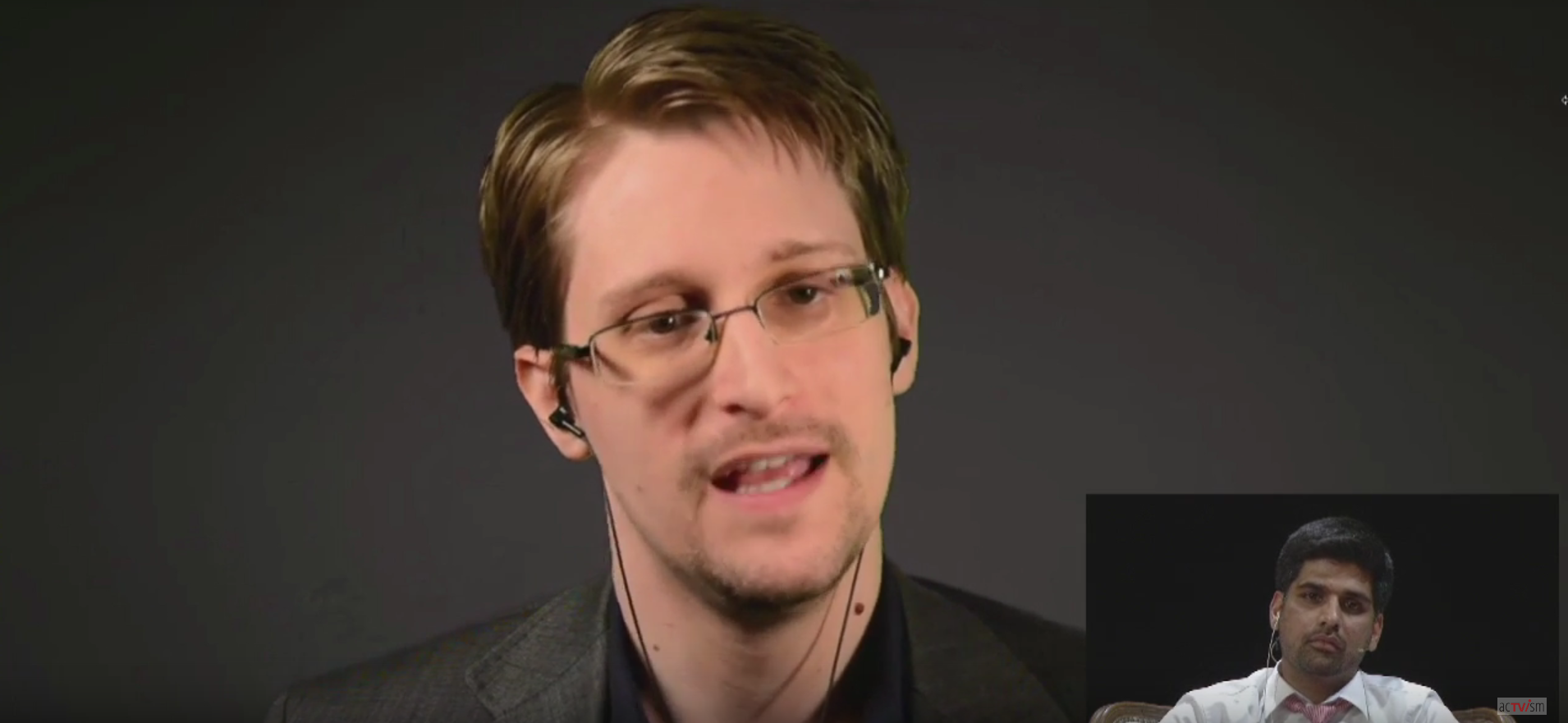 internationalen Experten Edward Snowden acTVism Munich