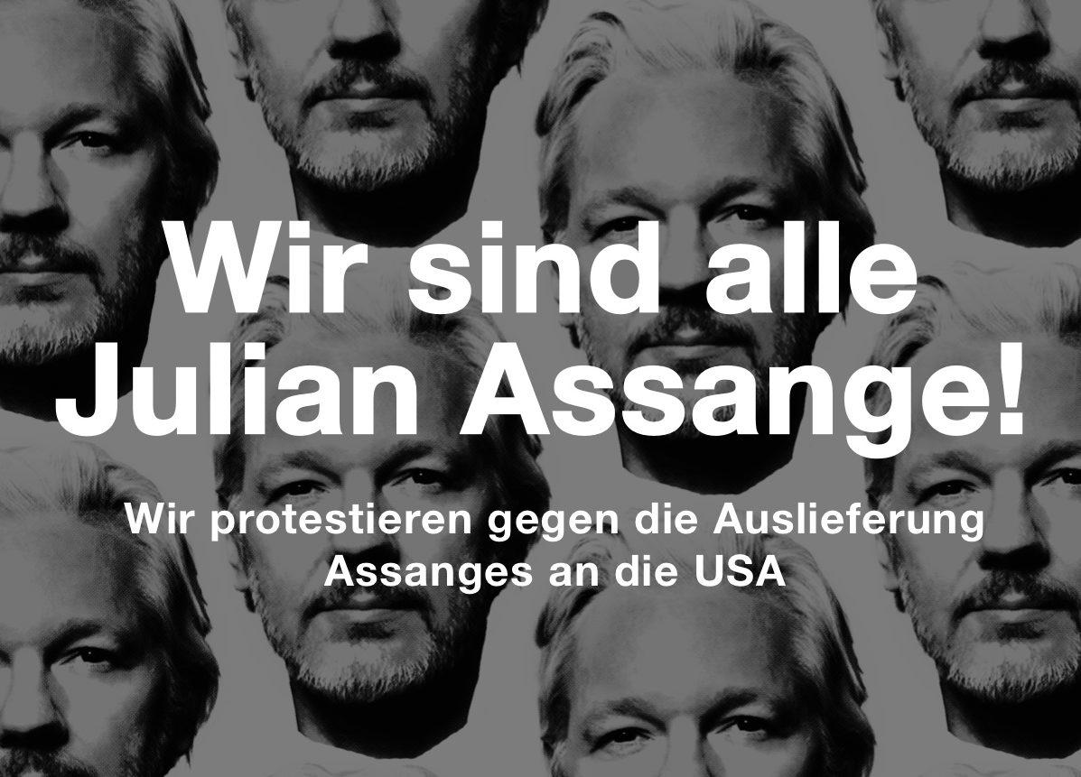 Julian Assange DiEM25 acTVism Munich