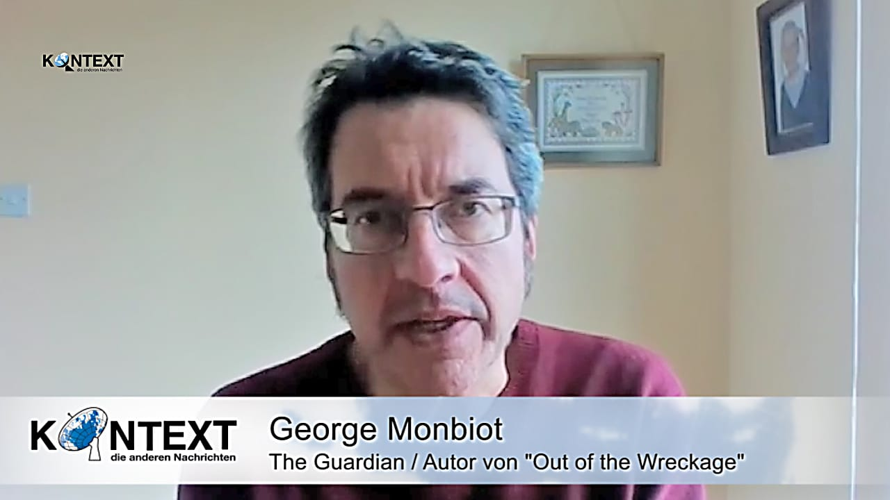 George Monbiot acTVism Munich