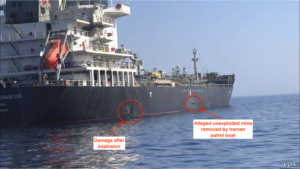 Gulf of Oman incident Iran acTVism Munich