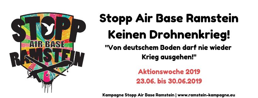 Veranstaltungstipp: Aktionswoche Stopp Air Base Ramstein 2019