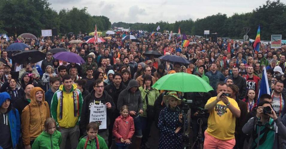 Ramstein Demonstration