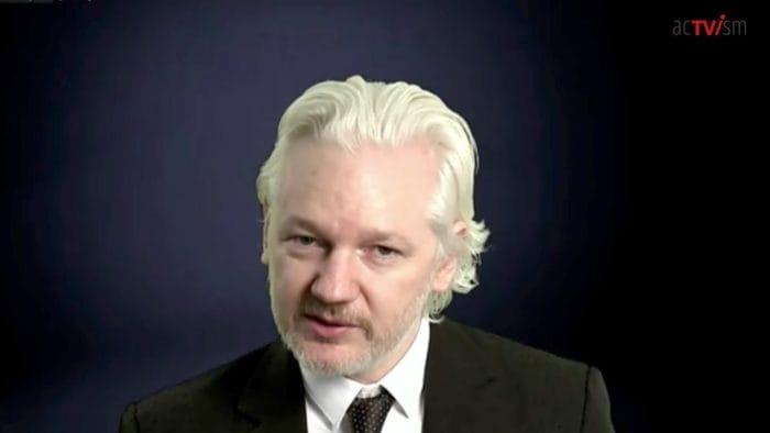 Julian Assange John Pilger