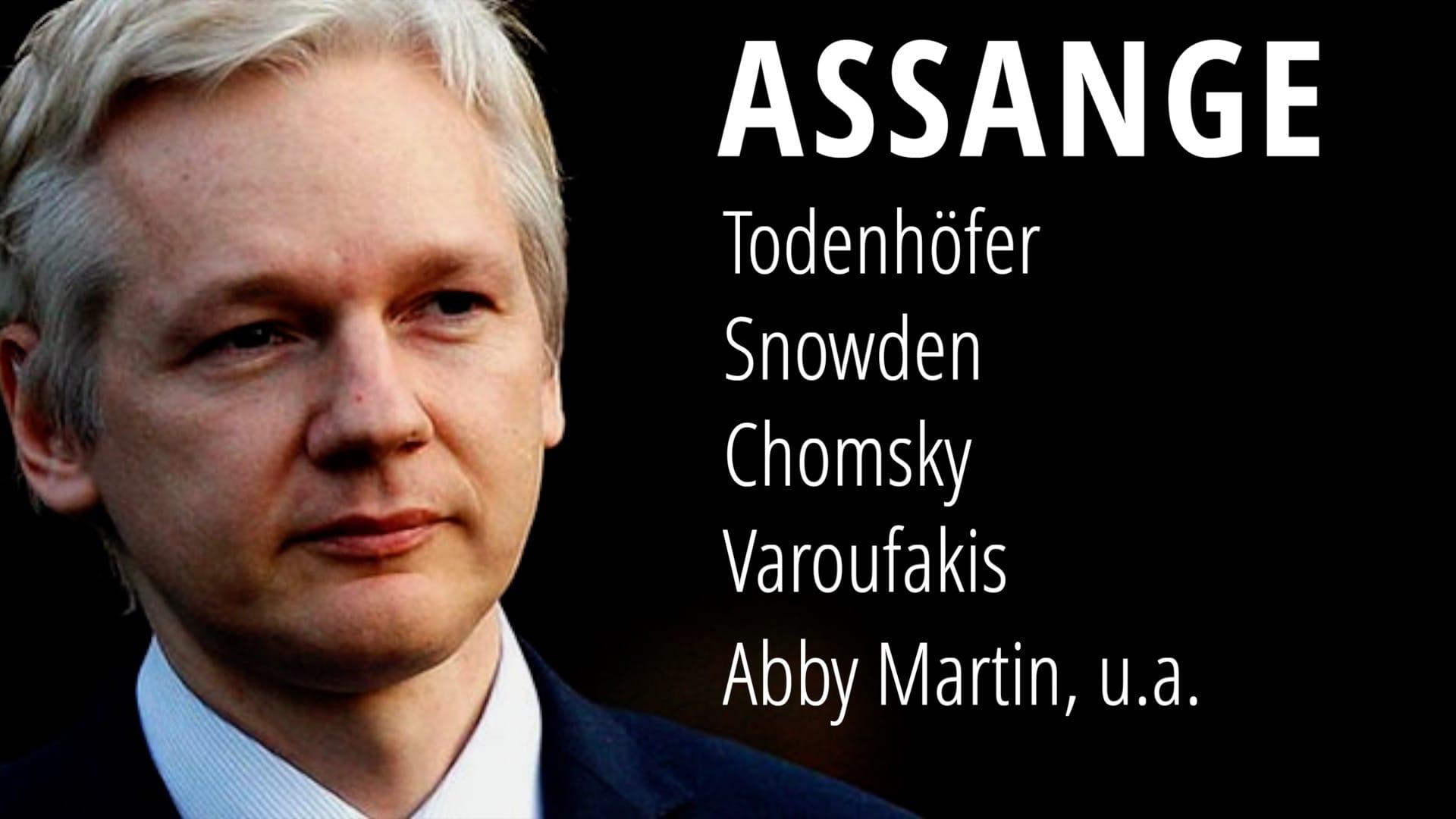 Assange Todenhöfer Snowden Chomsky