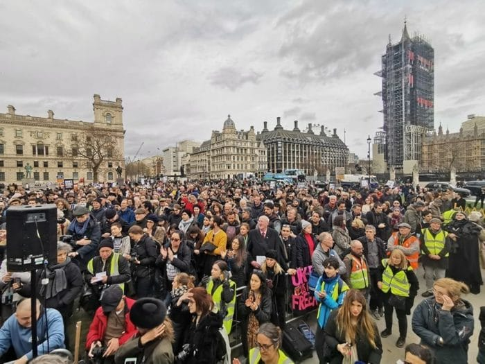 Julian Assange Protest