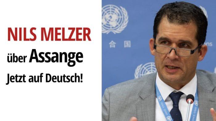 Nils Melzer Assange