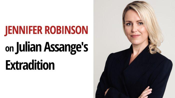 Jennifer Robinson Julian Assange