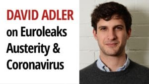 David Adler Coronavirus Euroleaks