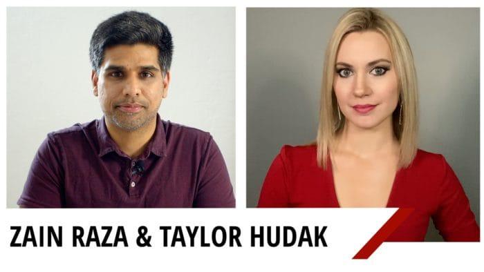 Taylor Hudak Zain Raza Coronavirus
