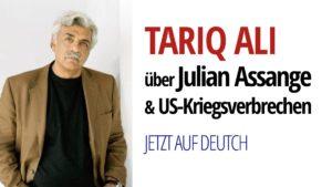 Tariq Ali Julian Assange