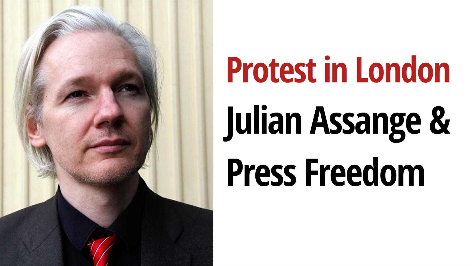 Press Freedom Julian Assange