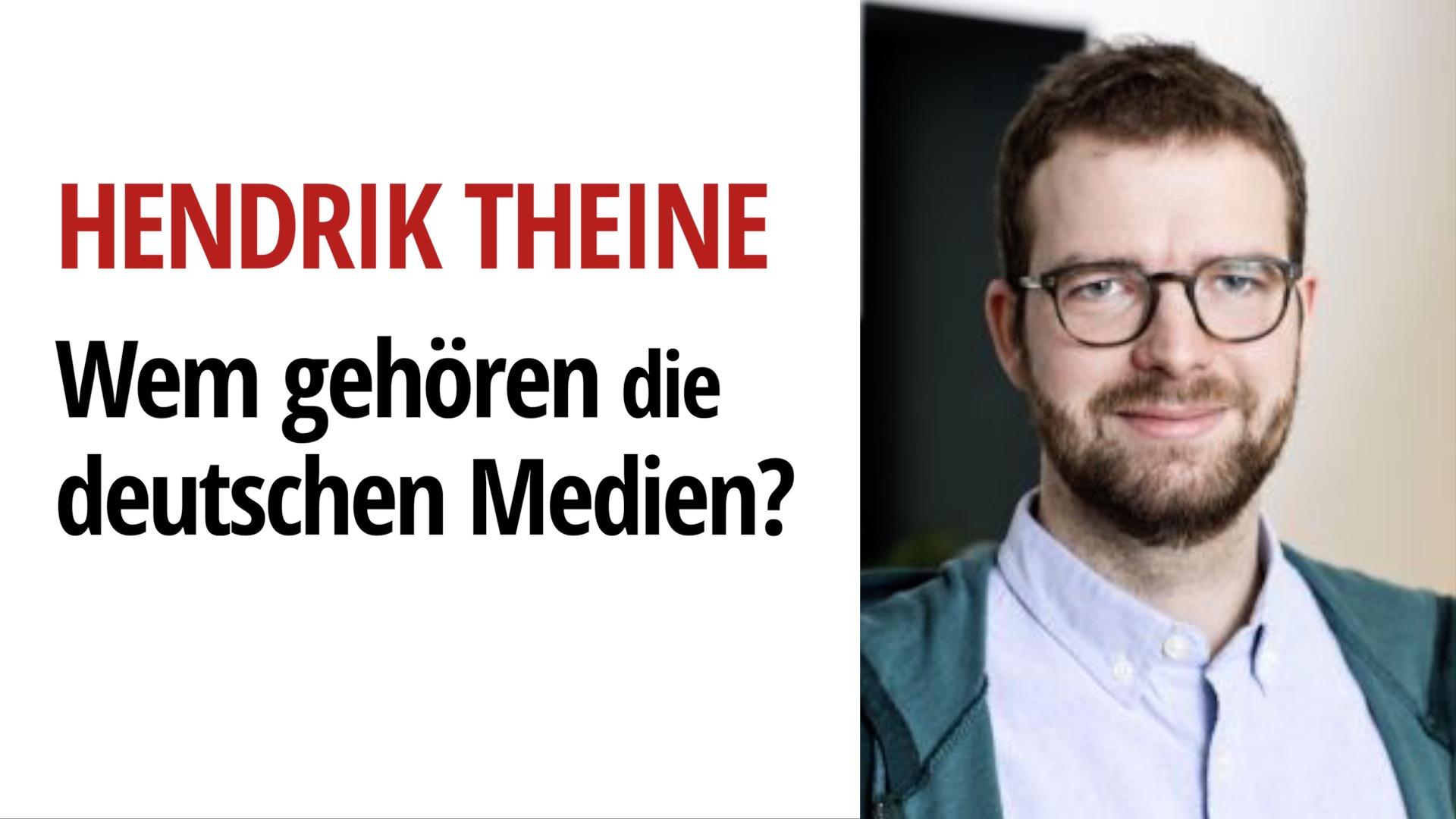 Hendrik Theine deutschen medien