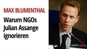 Max Blumenthal Julian Assange
