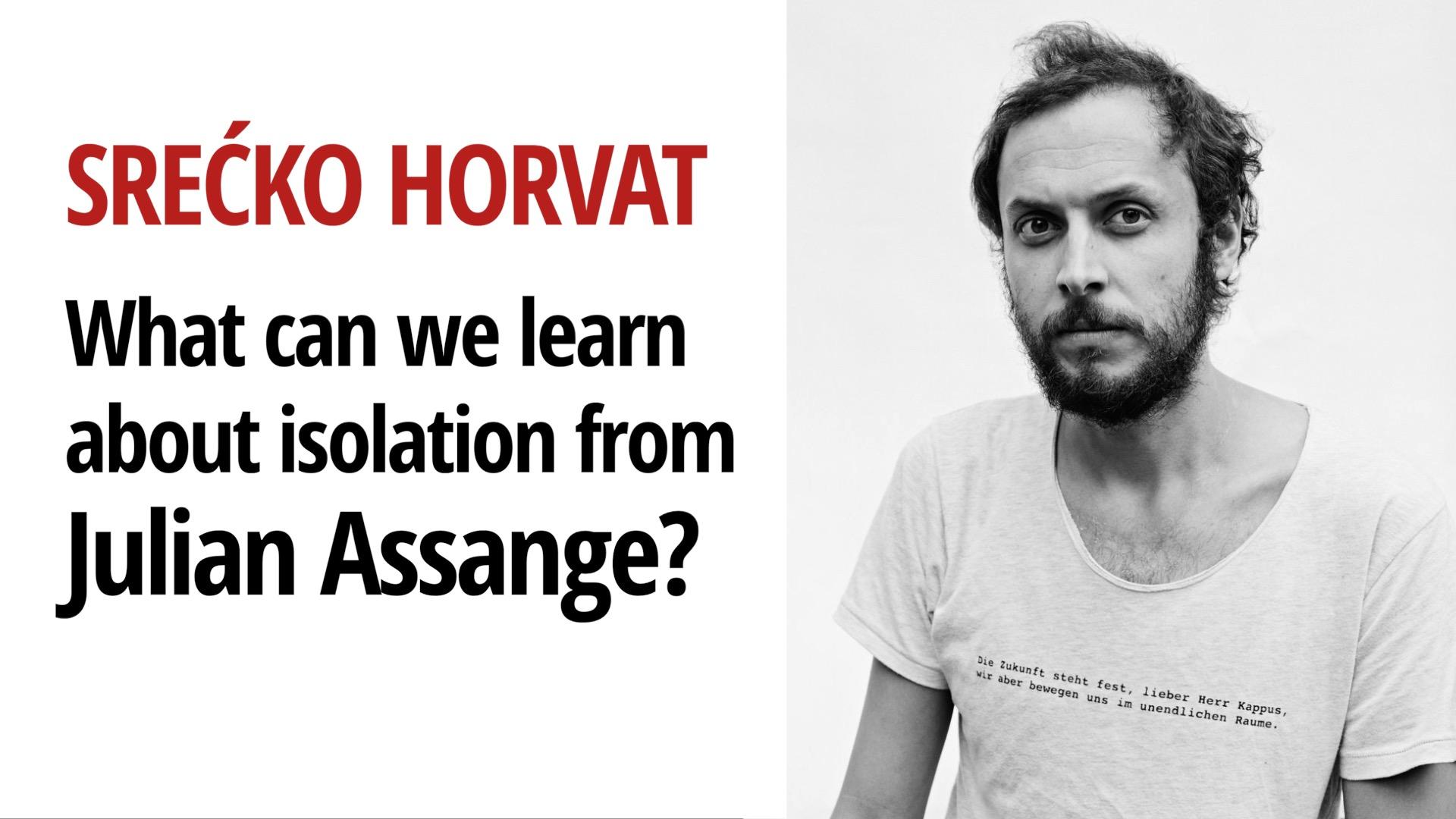 Coronavirus Julian Assange