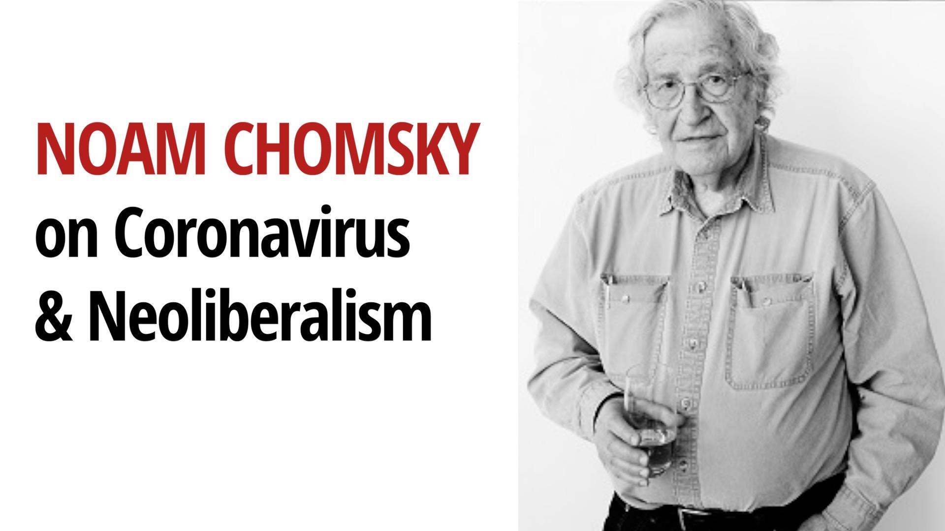 Noam Chomsky Coronavirus