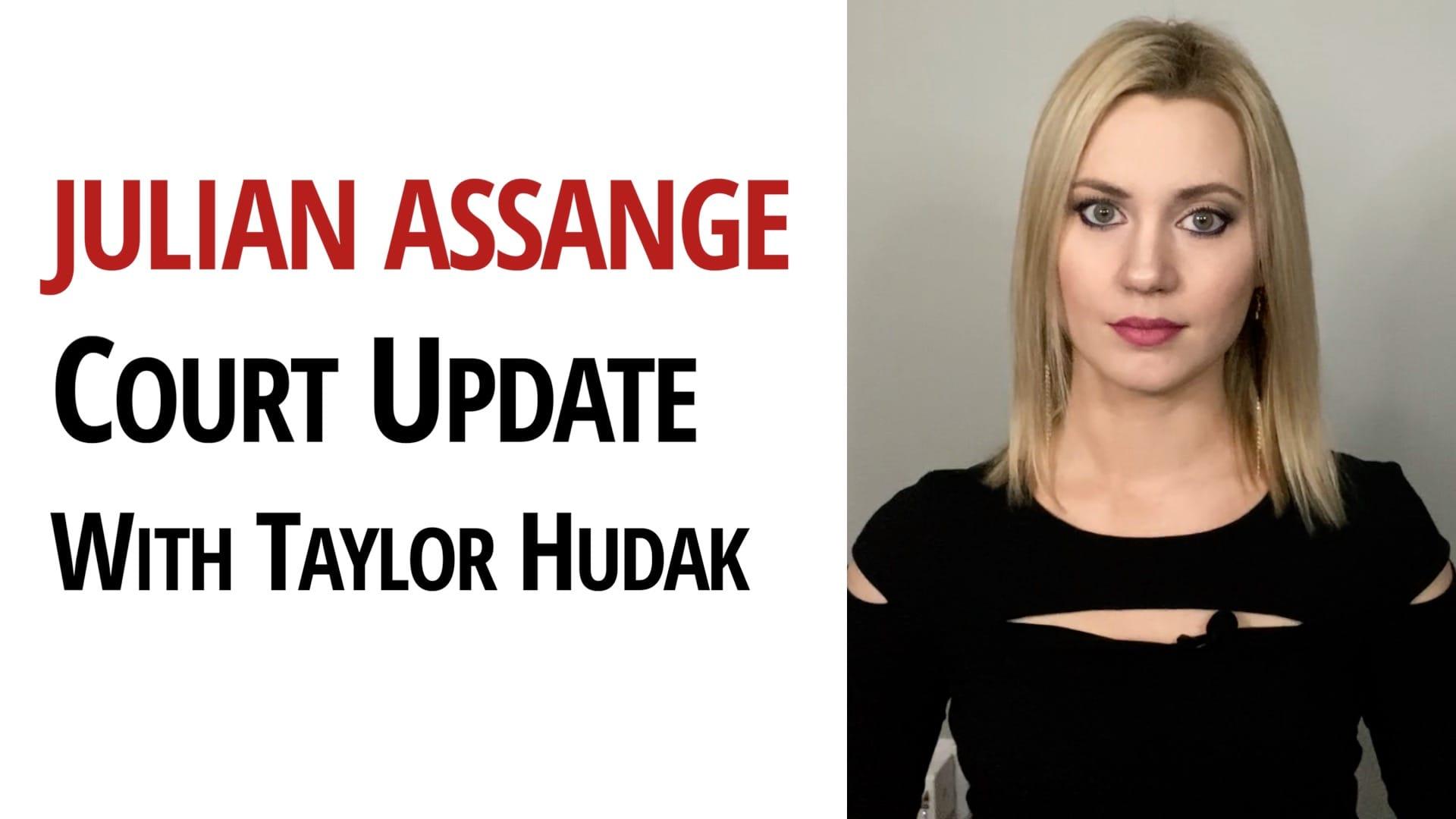 Julian Assange Wikileaks Taylor Hudak