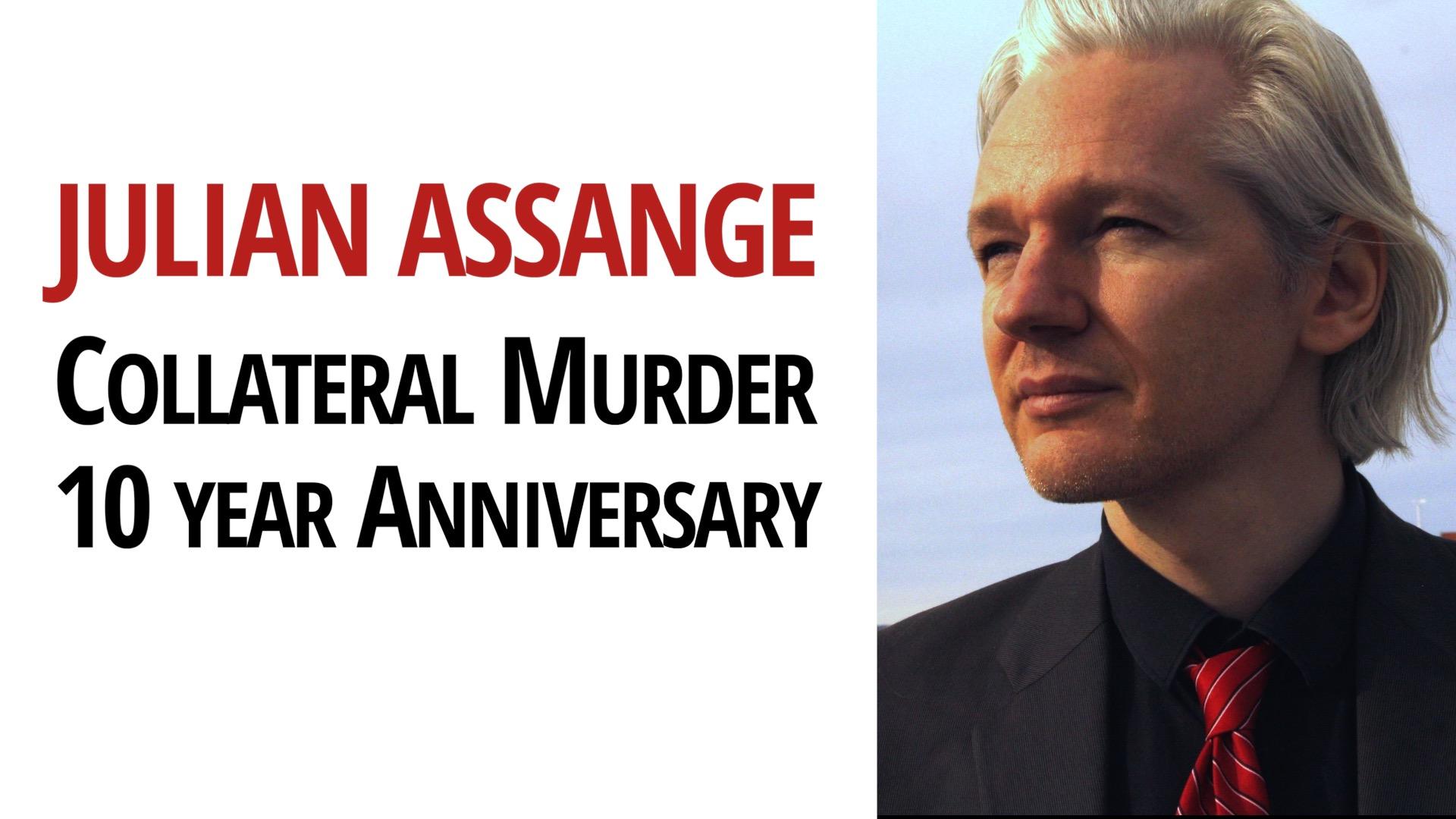 Julian Assange WikiLeaks Collateral Murder