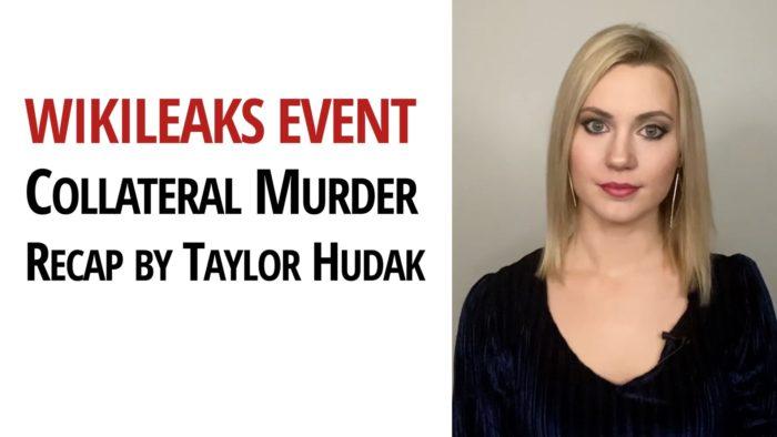Collateral Murder WikiLeaks Taylor Hudak