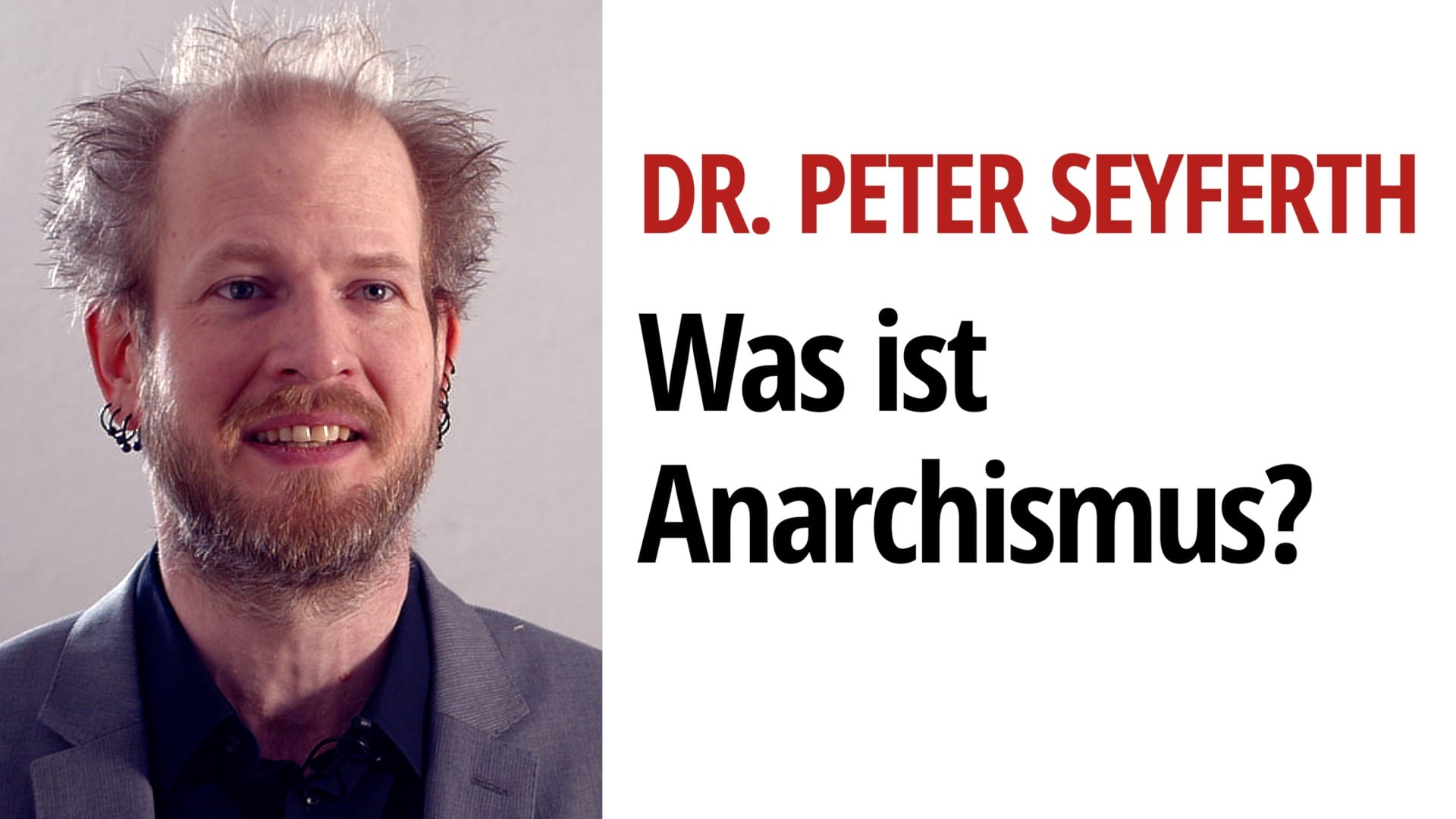 Anarchismus Peter Seyferth