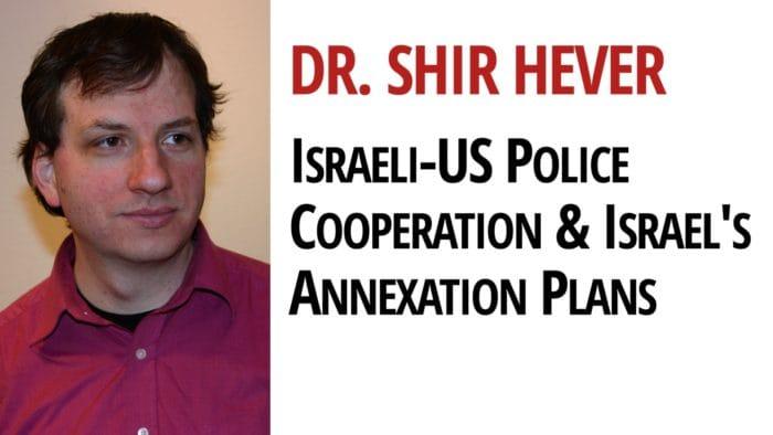 Israel Annexation Dr. Shir Hever