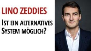 Lino Zeddies System Wirtschaftssystem