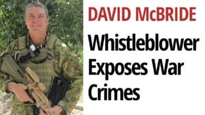 David McBride war crimes