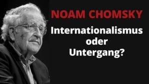 Noam Chomsky untergang