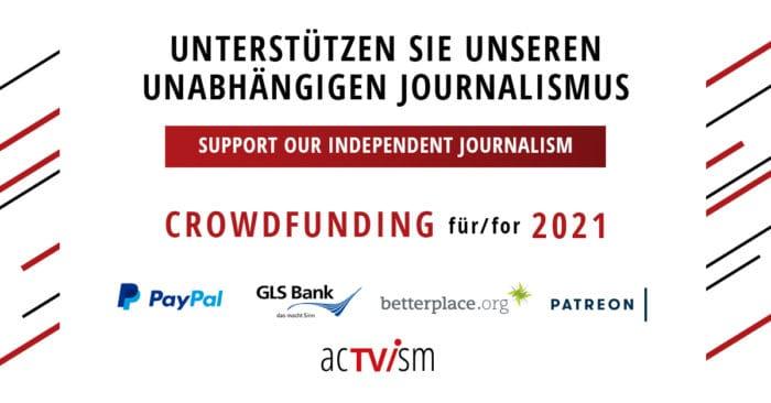 Taylor Hudak Pressefreiheit Crowdfunding