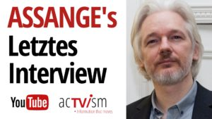Julian Assange's letztes Interview