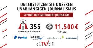 AcTVism-Crowdfunding Crowdfunding Update 5 acTVism Munich